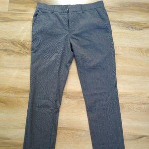 topman skinny charcoal dark grey pants 32S